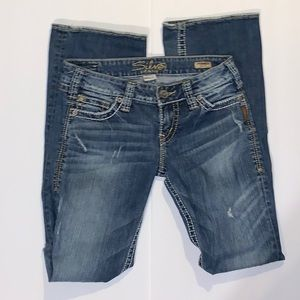 Silver Jeans Pioneer bootcut size 27